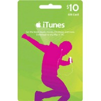 iTunes Gift Card Digital $10 USA