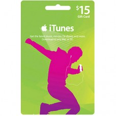 iTunes Gift Card Digital $15 USA