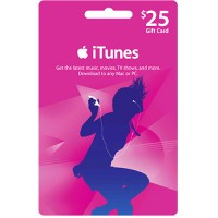 iTunes Gift Card Digital $25 USA