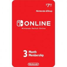 Nintendo Switch Online 3 meses individual