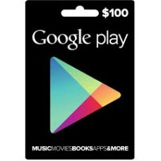 Google Play Digital Gift Card $100