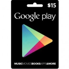 Google Play Digital Gift Card $15