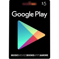 Google Play Digital Gift Card $5