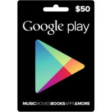 Google Play Digital Gift Card $50