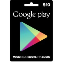 Google Play Digital Gift Card $10