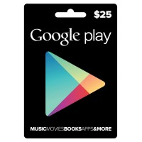 Google Play Digital Gift Card $25