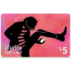 iTunes Gift Card Digital $5 USA