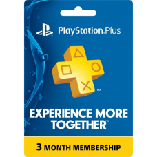 Tarjeta Playstation Plus 3 meses USA